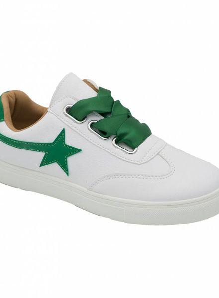 Sneaker ster groen