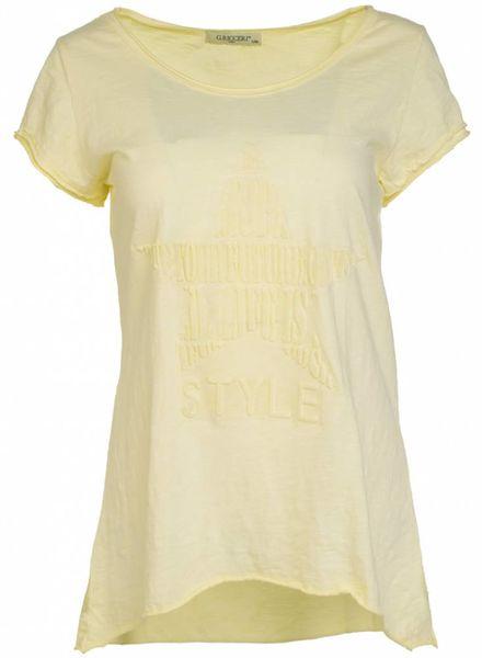 Gemma Ricceri Shirt future geel