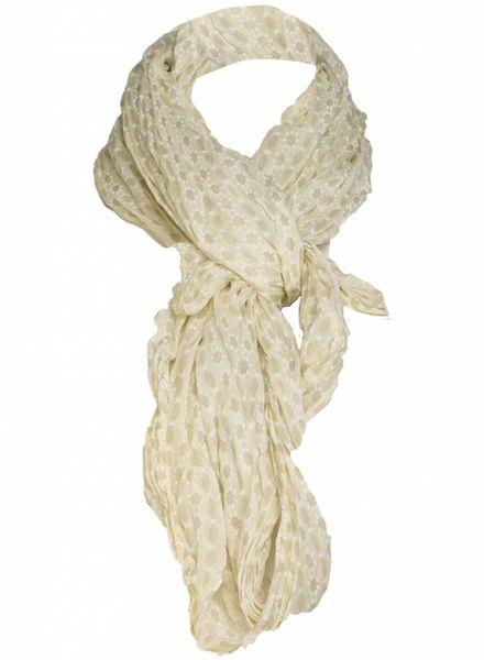 Rebelz Collection Sjaal blokjes geel