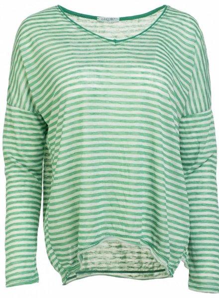 Gemma Ricceri Shirt Noud gucci groen