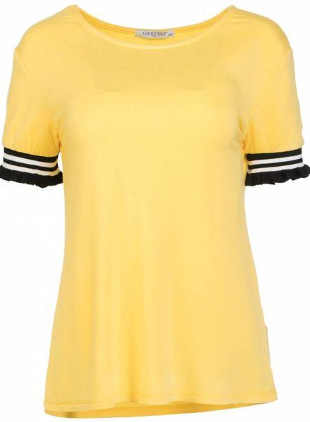 Gemma Ricceri Shirt Mandy geel/zwart