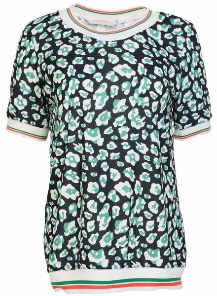 Gemma Ricceri Shirt travel Felicia groen
