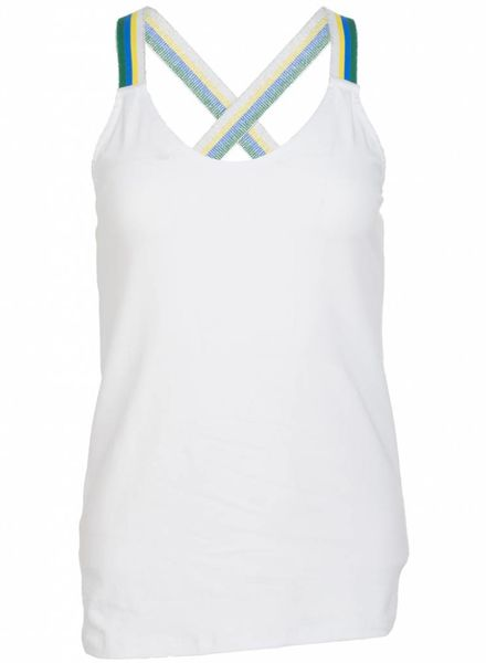 Gemma Ricceri Top kruisband Mo groen