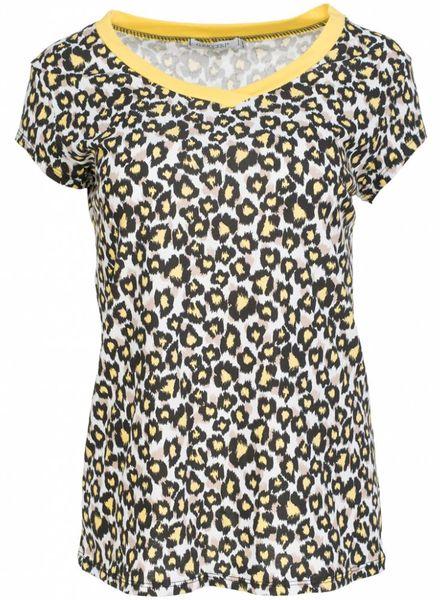 Gemma Ricceri Shirt Diana geel