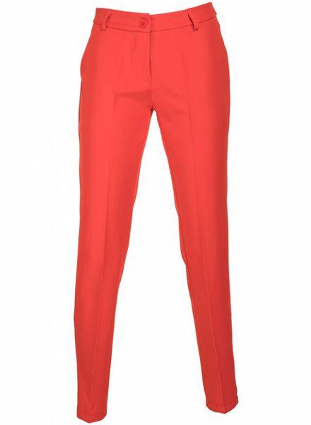 Pantalon Gerrie rood