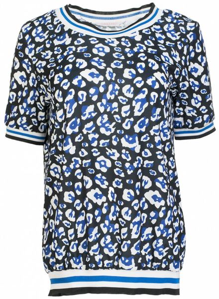 Gemma Ricceri Shirt travel Felicia kobalt