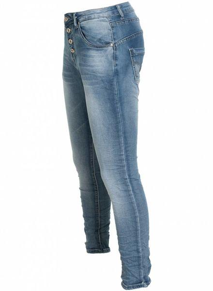 place du Jour Jogging jeans Debbie donker