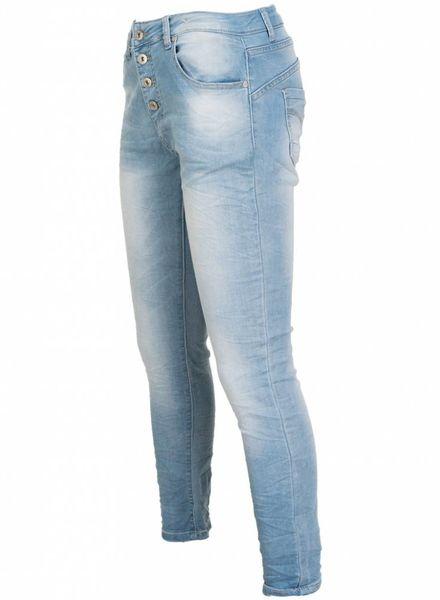 place du Jour Jogging jeans Debbie licht