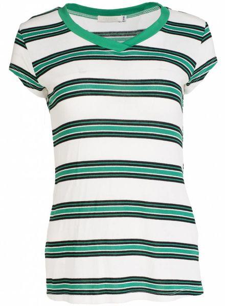 Gemma Ricceri Shirt Mo wit/groen
