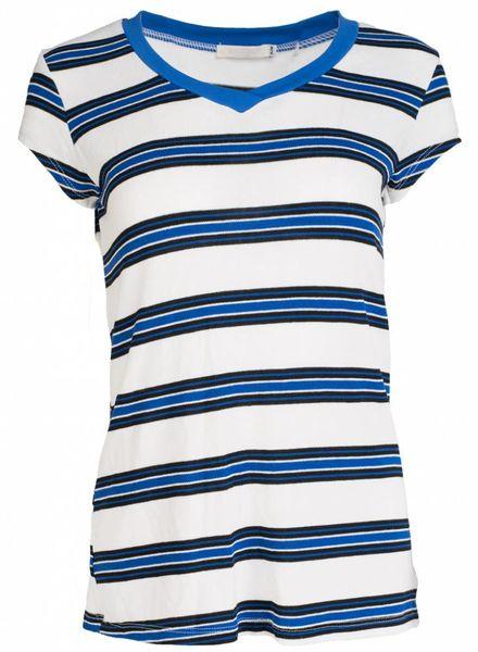 Gemma Ricceri Shirt Mo wit/blauw
