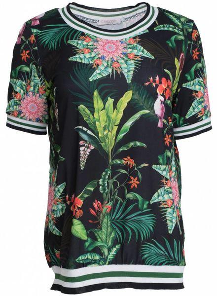 Gemma Ricceri Shirt Daisy zwart
