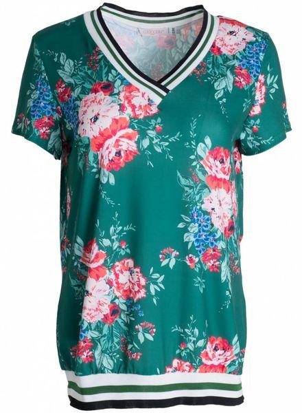 Gemma Ricceri Shirt Dewi groen