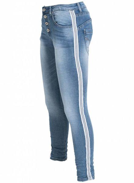 place du Jour Jogging jeans Rowena donker
