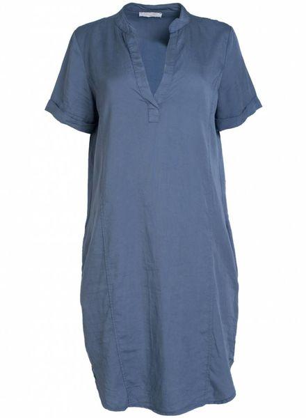 Gemma Ricceri Tuniek tencel Carrie jeansblauw