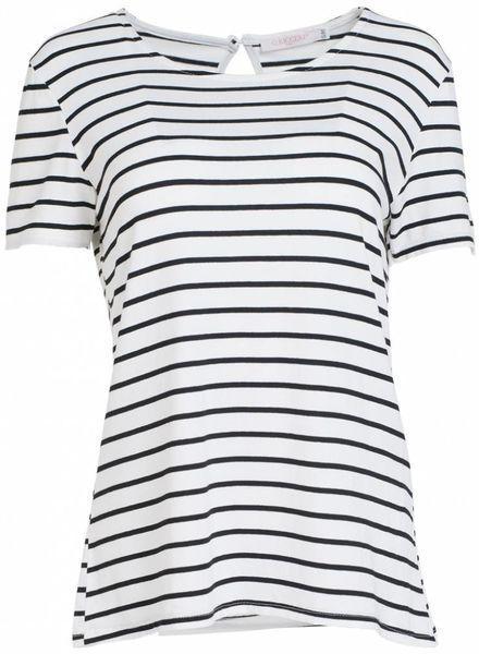 Gemma Ricceri Shirt Elsa wit/zwart