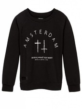 Sweater Amsterdam Zwart