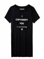 Copyright TEE dress