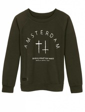 Sweater Amsterdam Groen