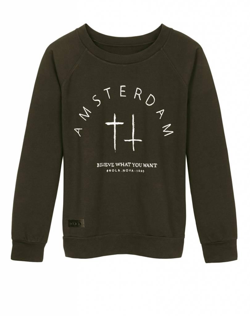 Sweater Amsterdam Dark Green