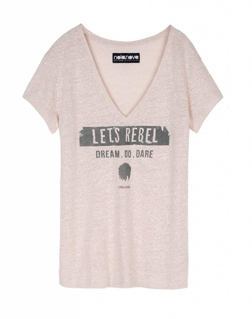 T-shirt Let's Rebel