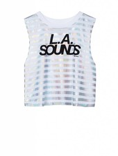 Cropped Top LA Sounds