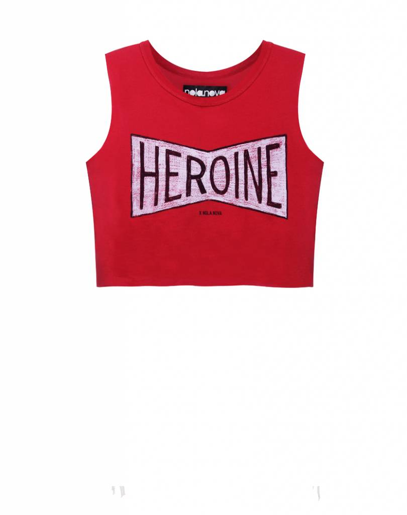 Cropped Top Heroine