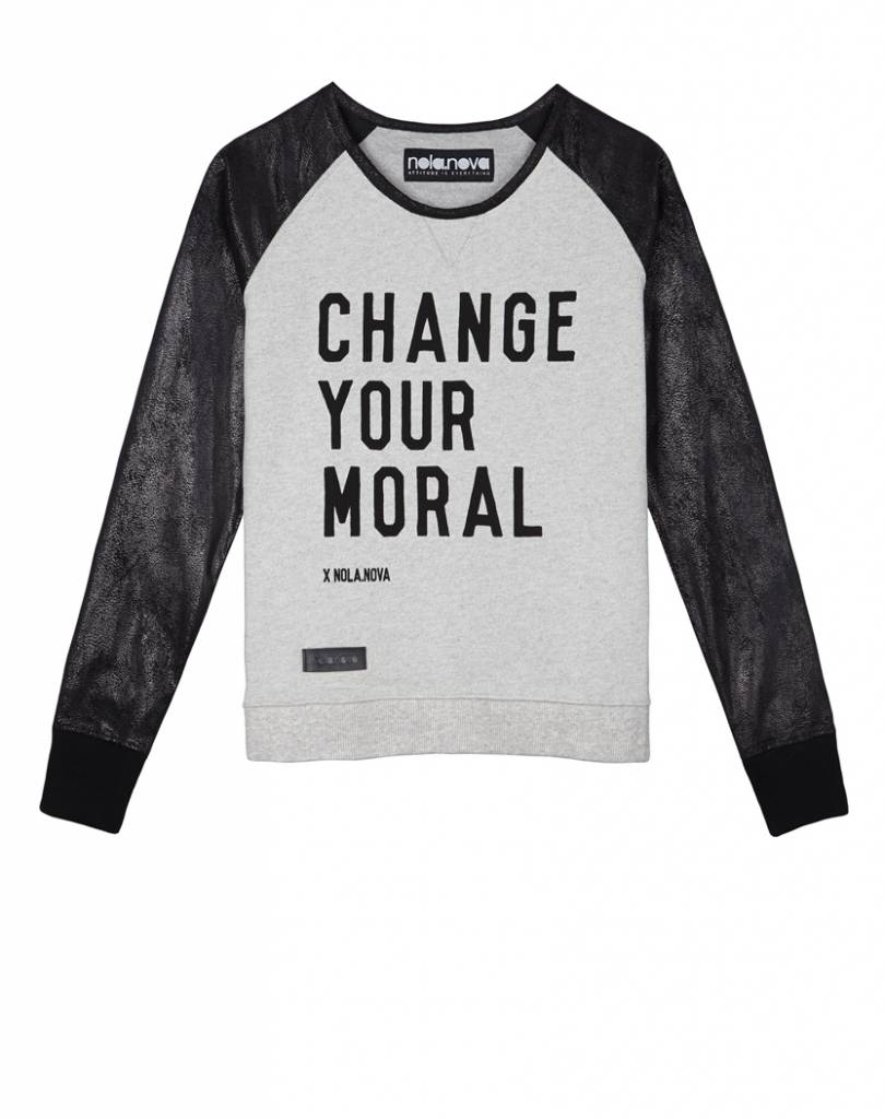 T-shirt Change Your Moral