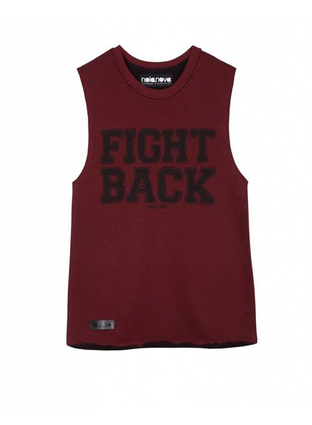 Tanktop Fight Back Red