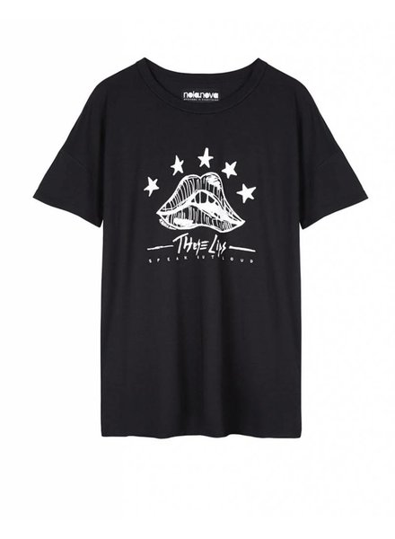 T-shirt These Lips Black