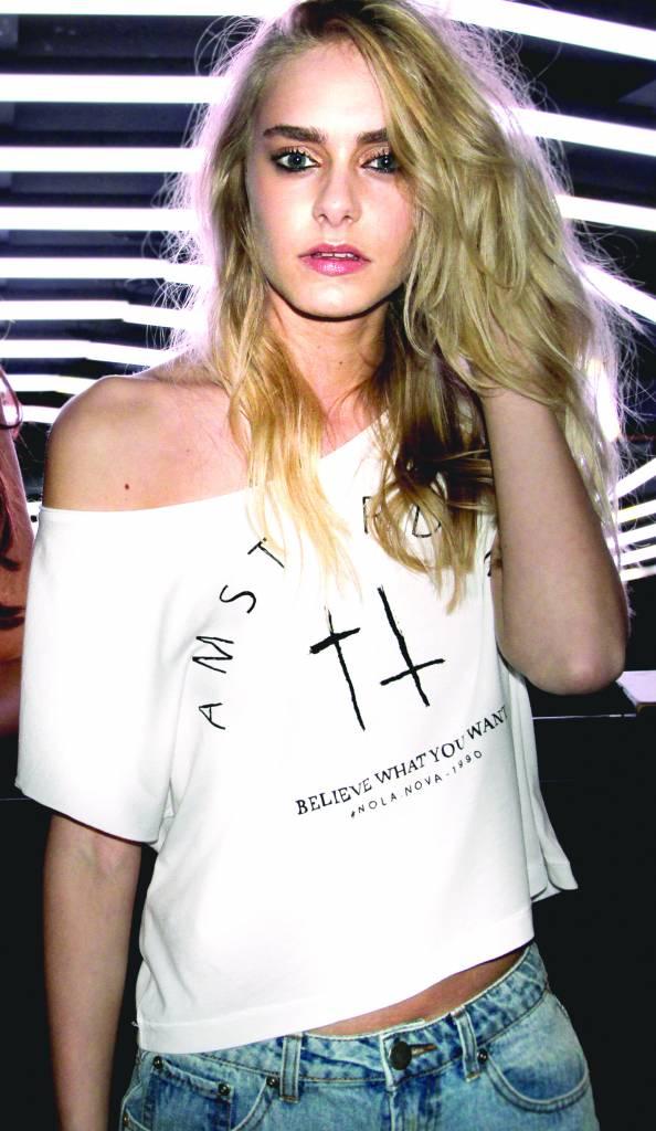 White T-shirt Amsterdam