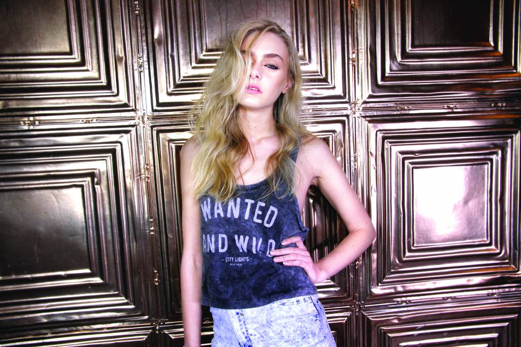 Cropped Top Wanted and Wild