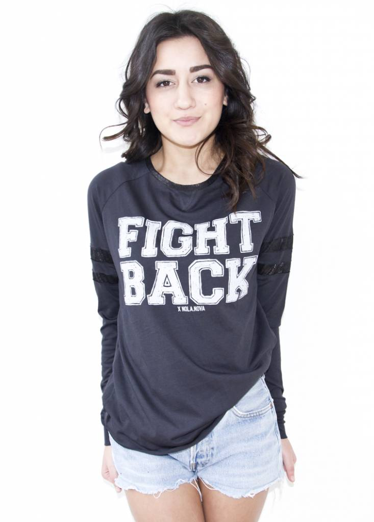 Longsleeve Fight Back