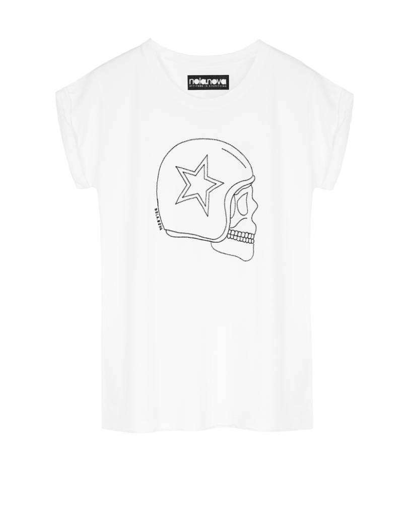 T-Shirt Motor Skull