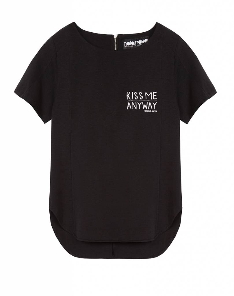 T-Shirt Kiss me anyway