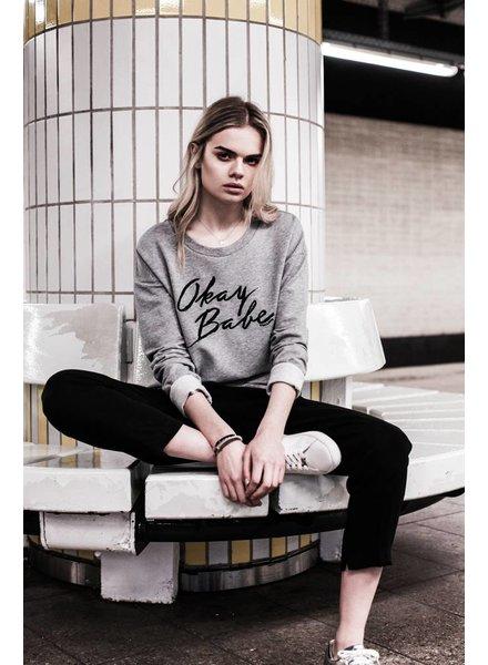 Okay Babe Sweater