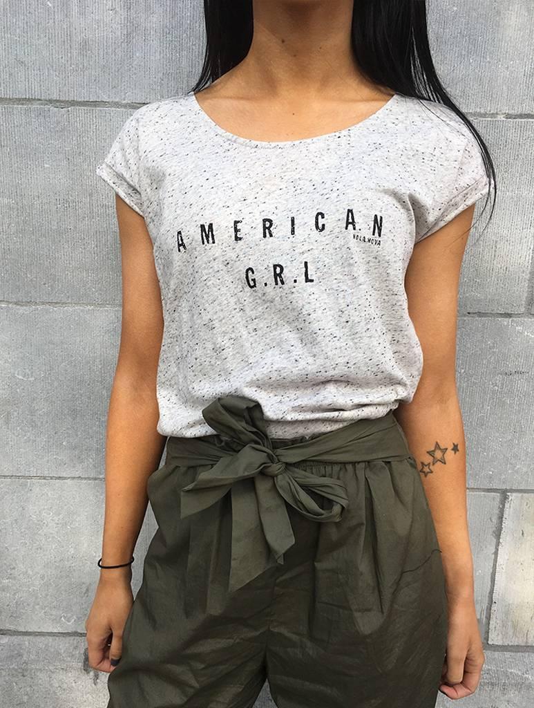 T-Shirt American Girl