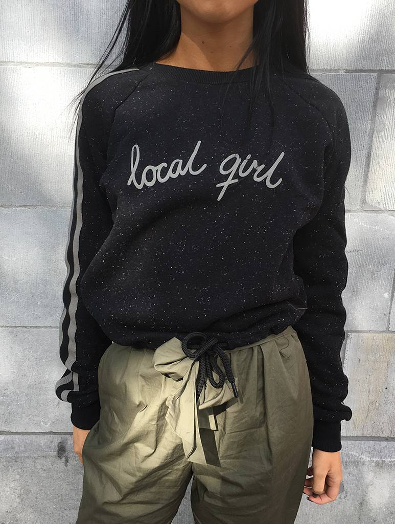 Crop Sweater Local Girl