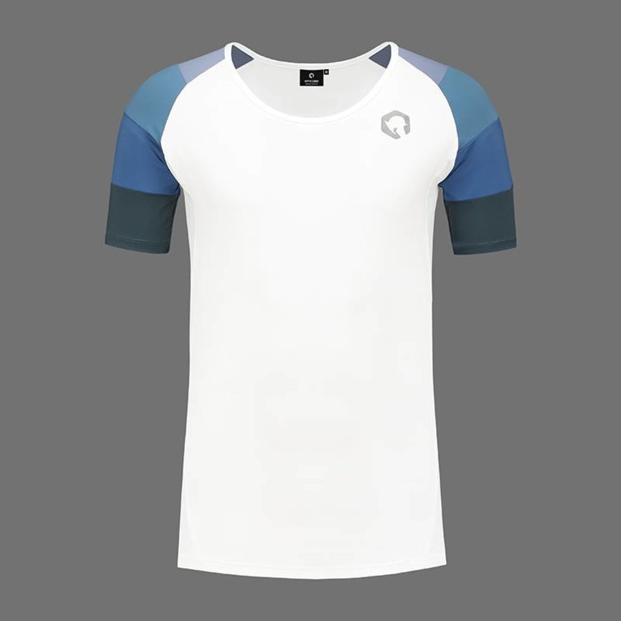 OPTIO SANO T-SHIRT - VENATOR R.Y.B.R. BIANCO