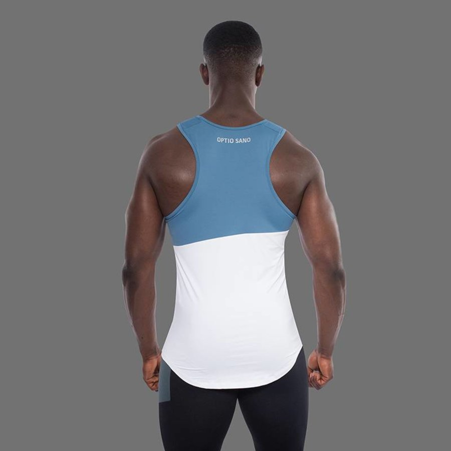OPTIO SANO TANK TOP - HASTATUS YACHT BIANCO