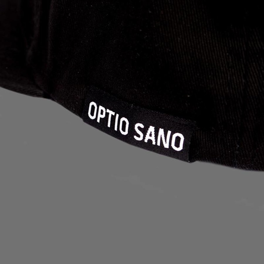 OPTIO SANO OS SNAPBACK CAP BLACK