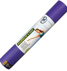Fitness Mad Fitness Mad Warrior II Yoga Mat 4mm