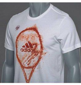 adidas Adidas Roland Garros Short Sleeve Tee