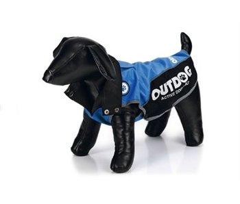 Ipts hondenregenjas outdog blauw