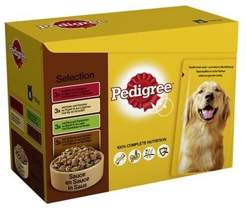 Pedigree multipack pouch selection