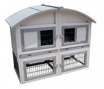 Karlie konijnenhok caravan cottage