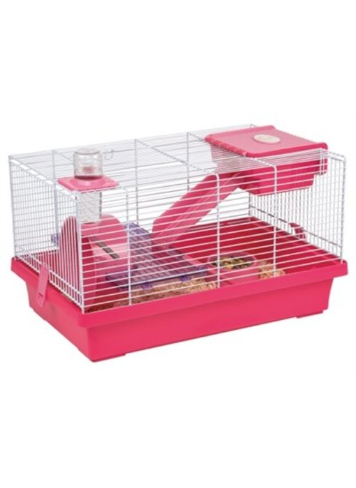 Karlie hamsterkooi nicky roze / paars