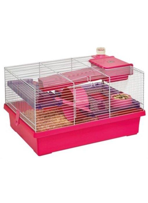 Karlie hamsterkooi jeffrey roze / paars