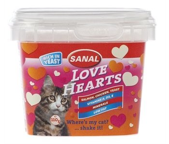 Sanal cat love hearts cup