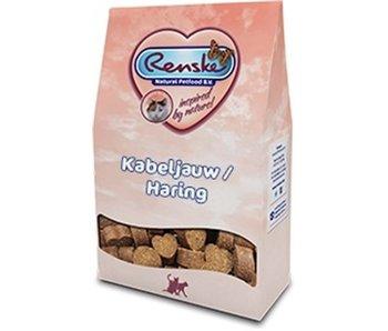 Renske gezonde beloning kat kabeljauw en haring
