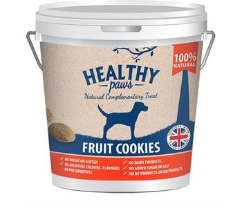 Healthy paws fruit cookies